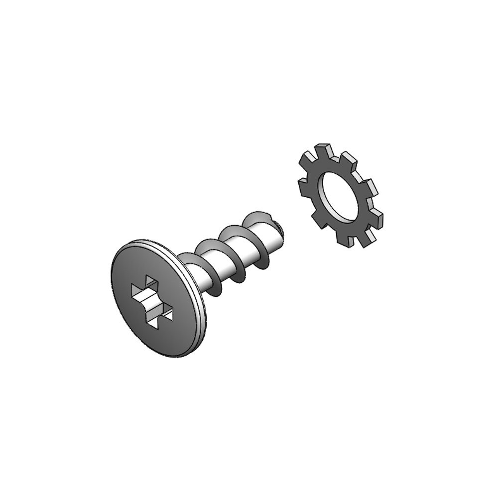 No 8 X 1-2 Mounting Screw